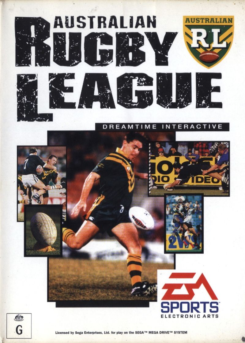 Australian Rugby League Genesis Front Cover