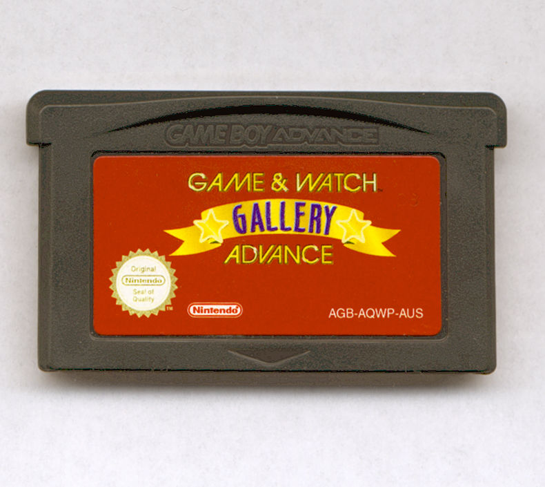 Game & Watch Gallery 4 Game Boy Advance Media