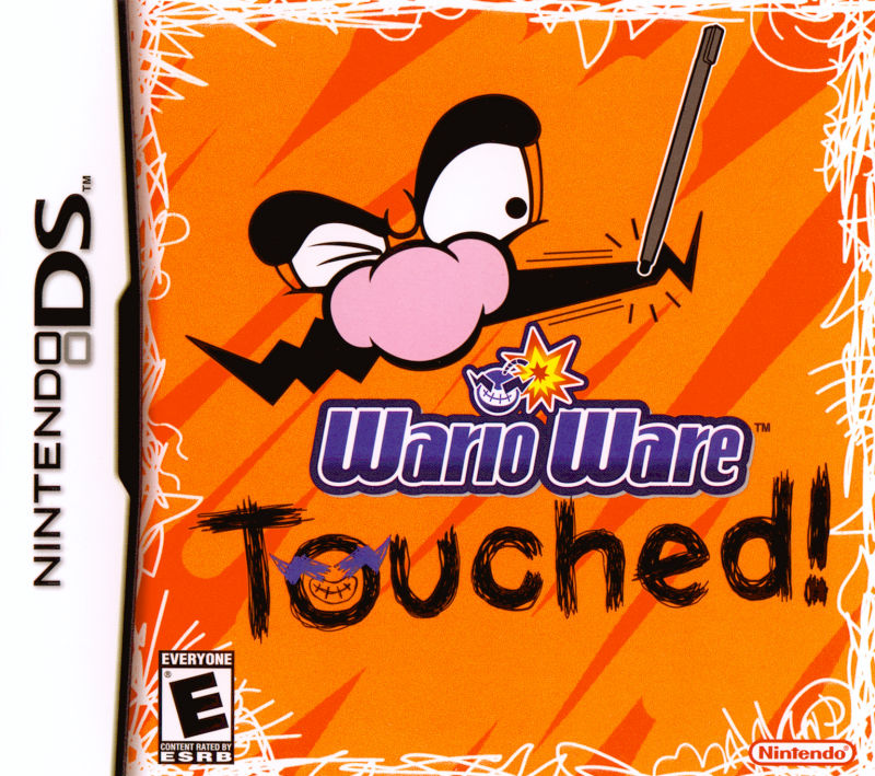 WarioWare: Touched! Nintendo DS Front Cover