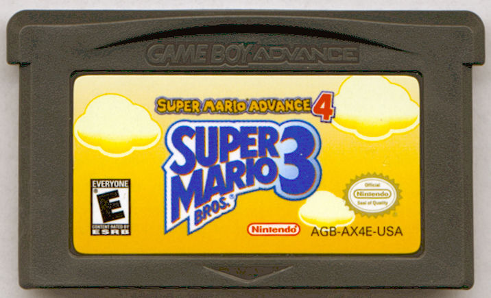 Super Mario Bros. 3 Game Boy Advance Media