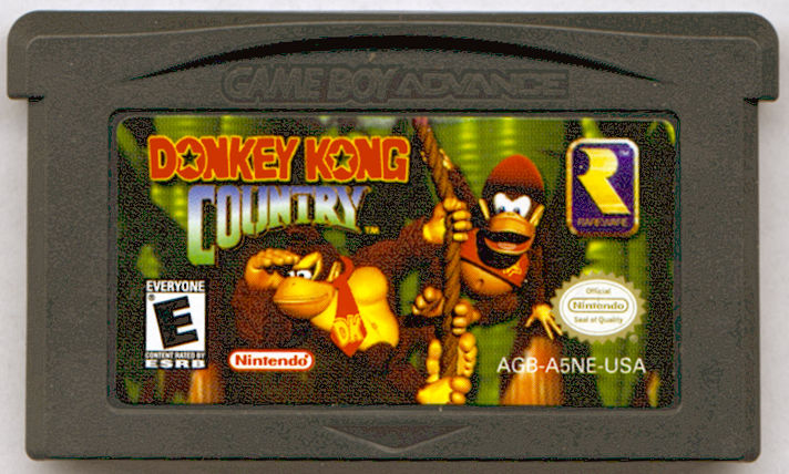 Donkey Kong Country Game Boy Advance Media
