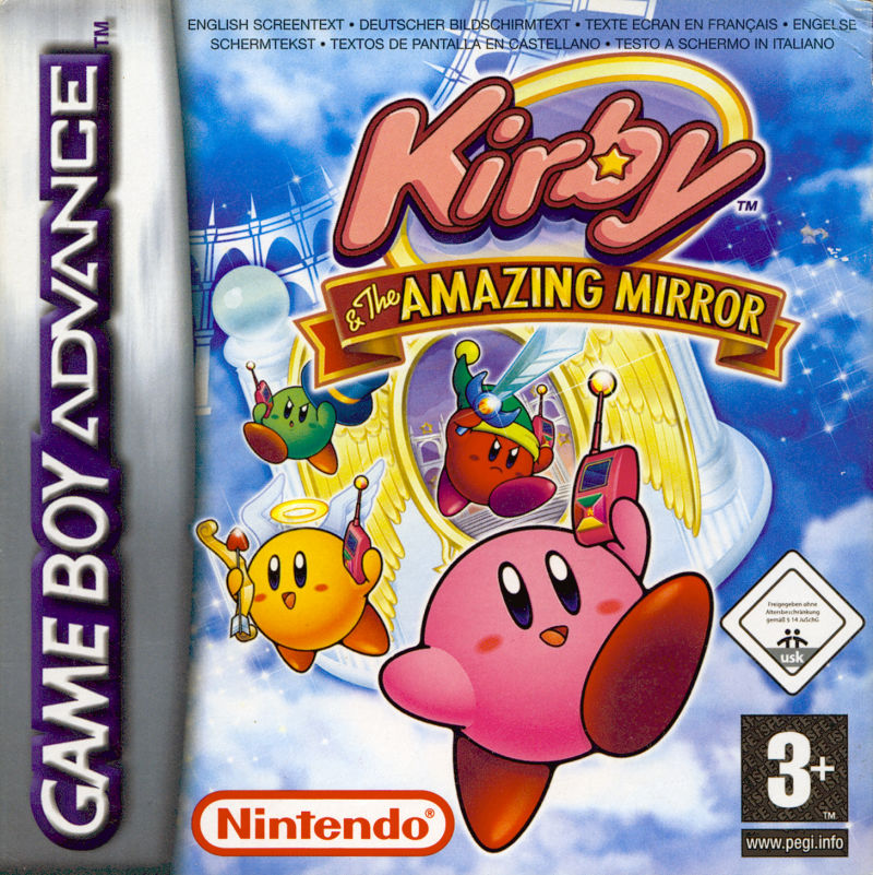 Kirby e The Amazing Mirror Game Boy Advance-ROM Game