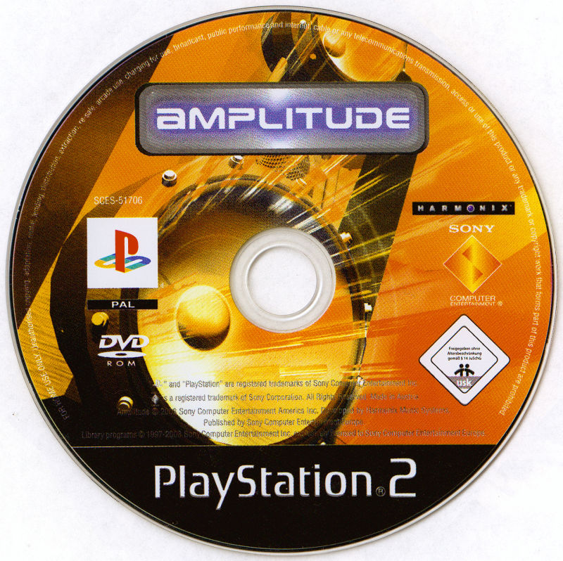 Amplitude PlayStation 2 Media