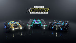 GRIP: Combat Racing - Terra Garage Kit Nintendo Switch Front Cover