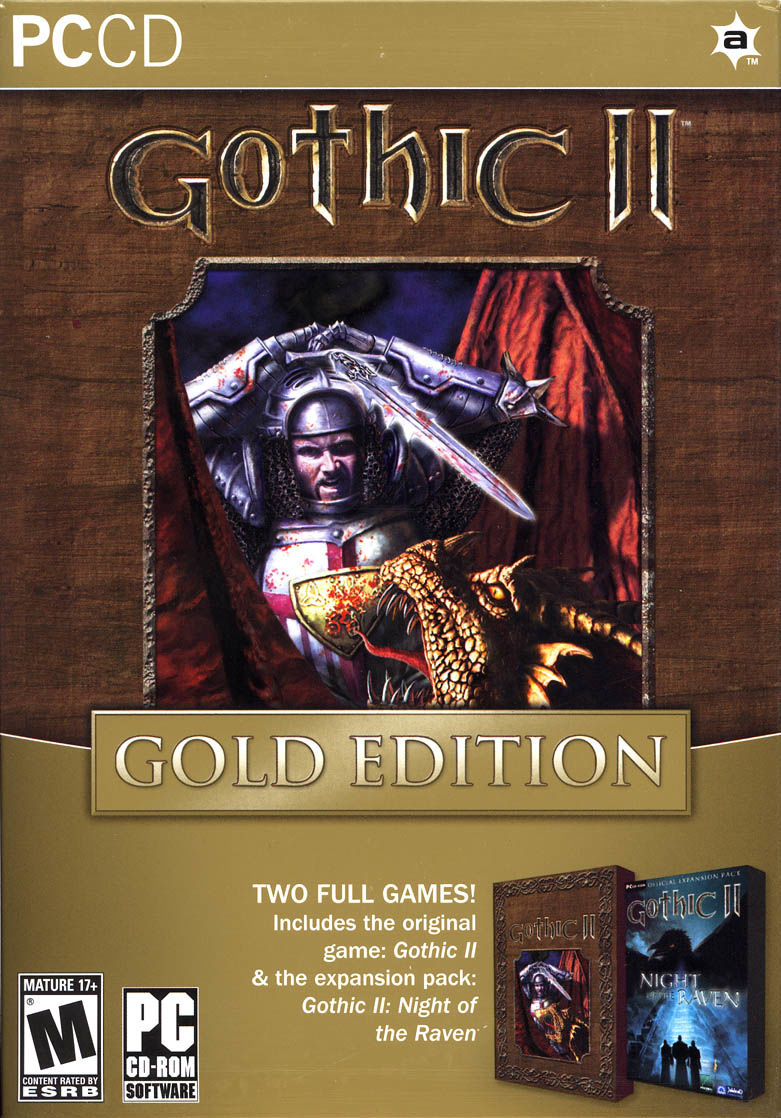 Gothic II: Gold Edition Windows Front Cover
