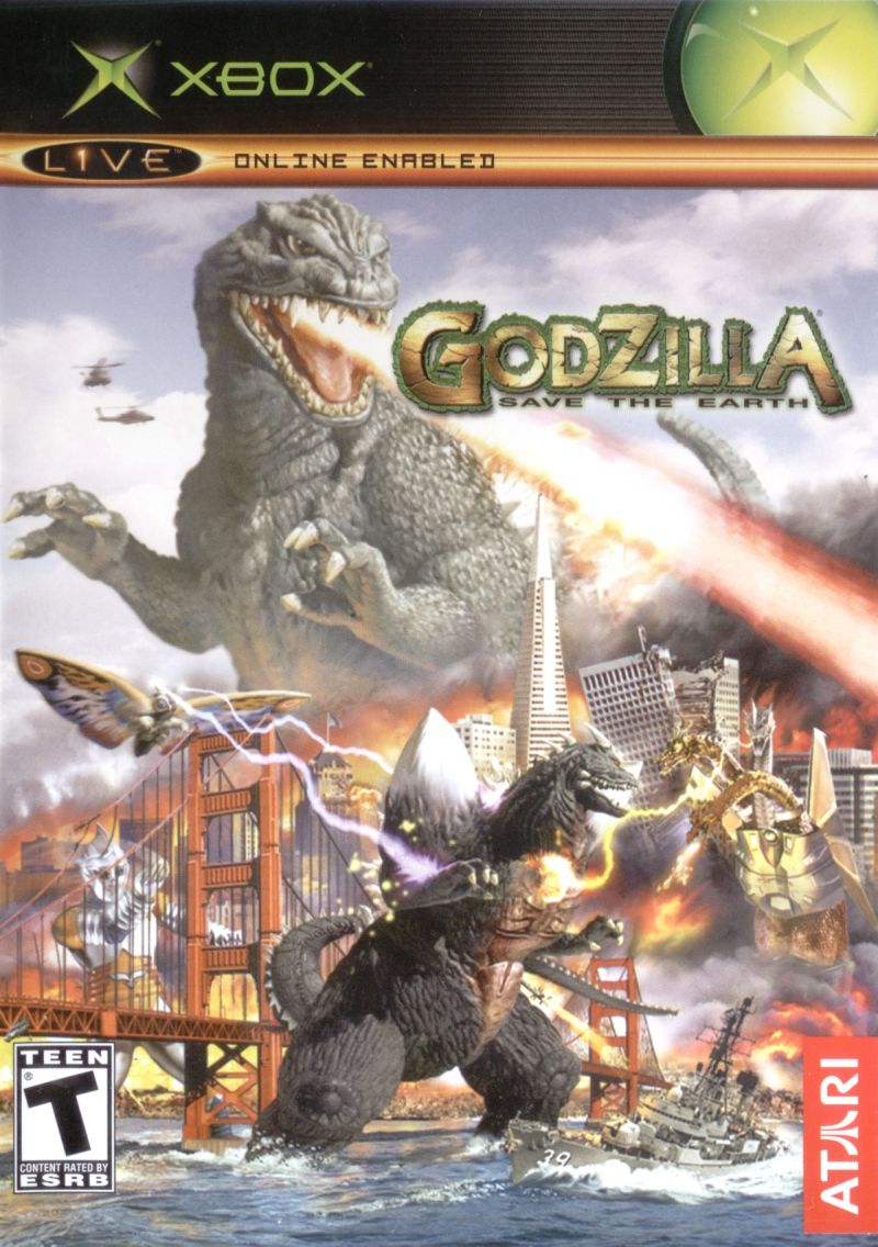 Godzilla Save the Earth for Xbox 2004 MobyGames