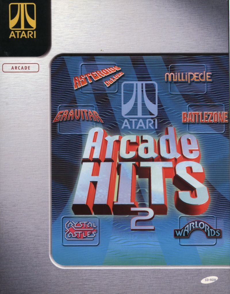 Atari Arcade Hits: Volume 2 Windows Front Cover