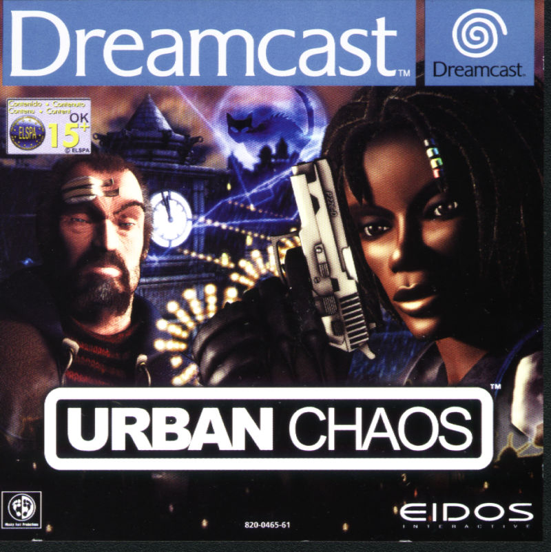 Urban Chaos Dreamcast Front Cover