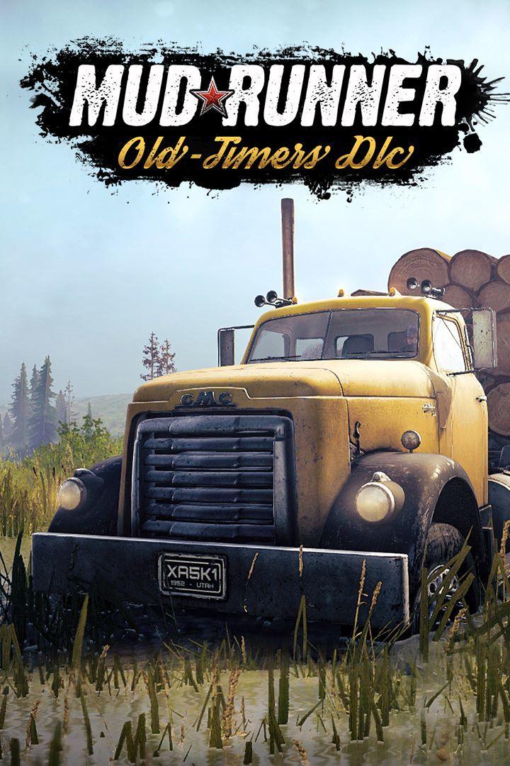 mudrunner old timers dlc 2019 playstation 4 box cover. Black Bedroom Furniture Sets. Home Design Ideas