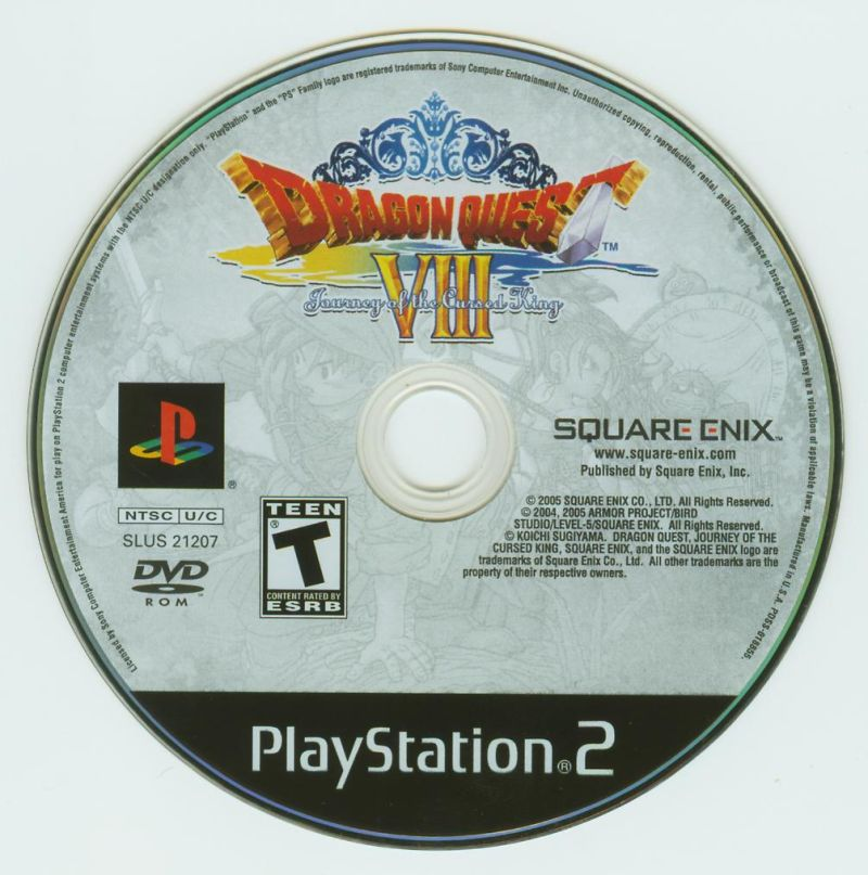Dragon Quest VIII: Journey of the Cursed King PlayStation 2 Media