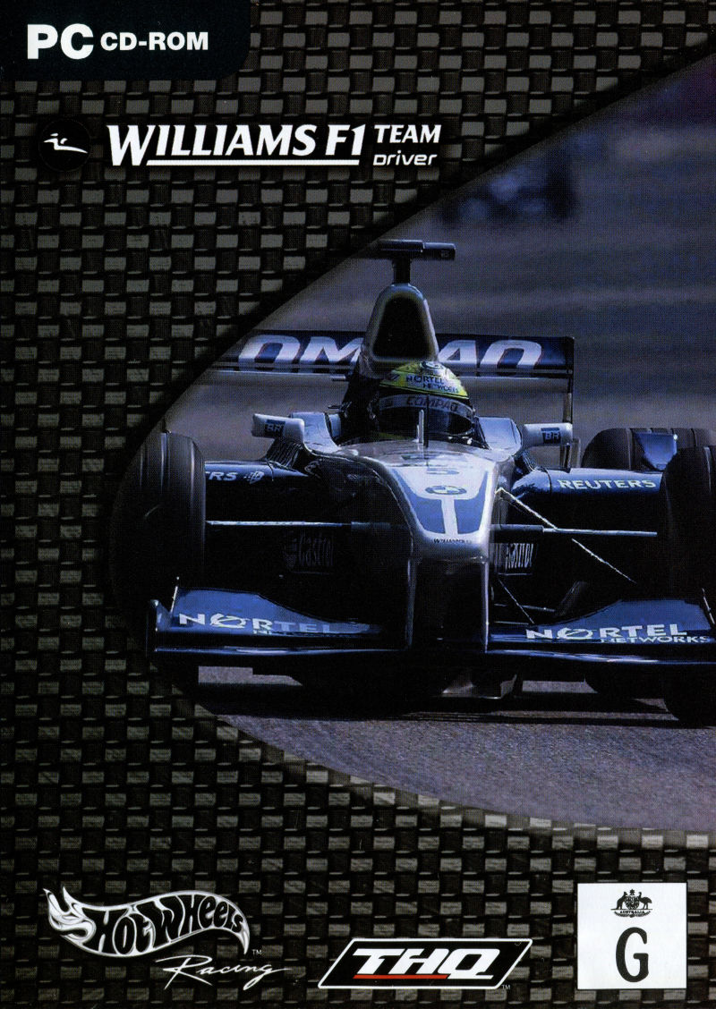 Hot Wheels: Williams F1 - Team Racer Windows Front Cover