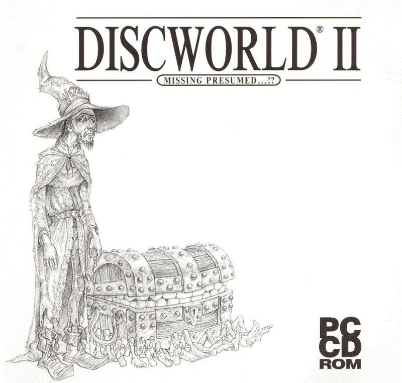 Discworld II: Mortality Bytes! DOS Other Jewel Case - Front