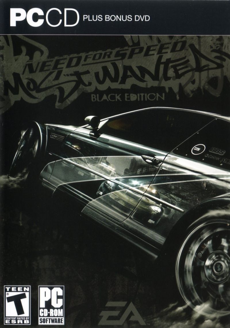 Need for Speed: Most Wanted (Black Edition) Windows Other Keep Case - Front