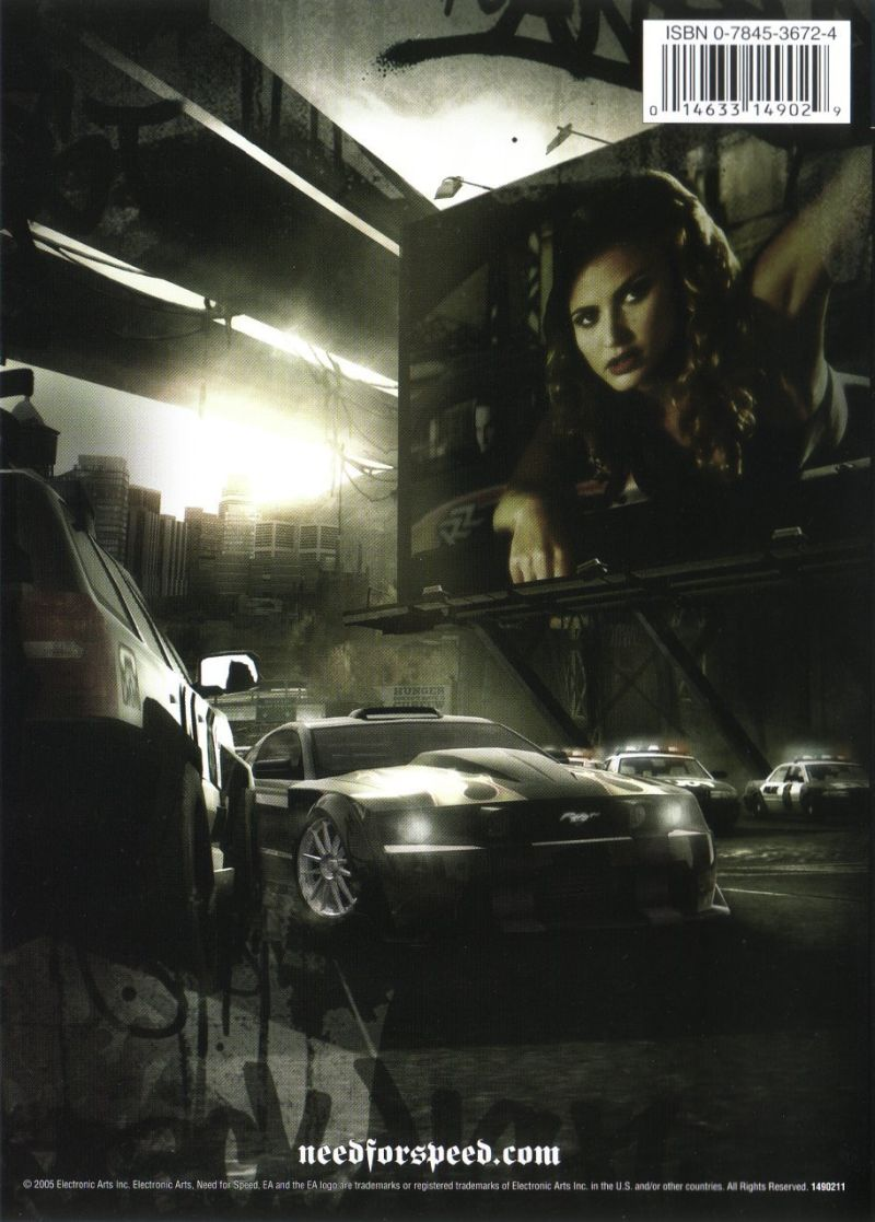 Need for Speed: Most Wanted (Black Edition) Windows Other Keep Case - Back