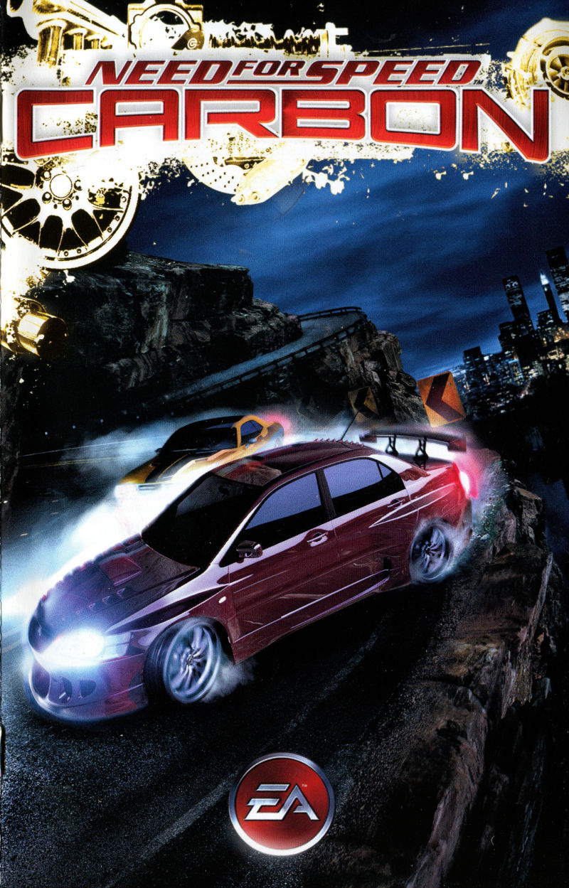 Need For Speed Carbon 2006 Box Cover Art Mobygames