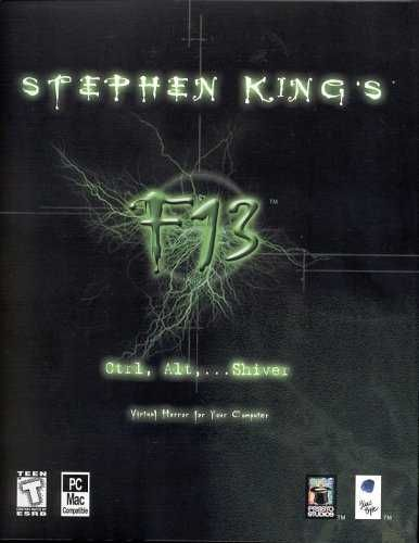 Stephen King's F13: Ctrl, Alt, ...Shiver Macintosh Front Cover