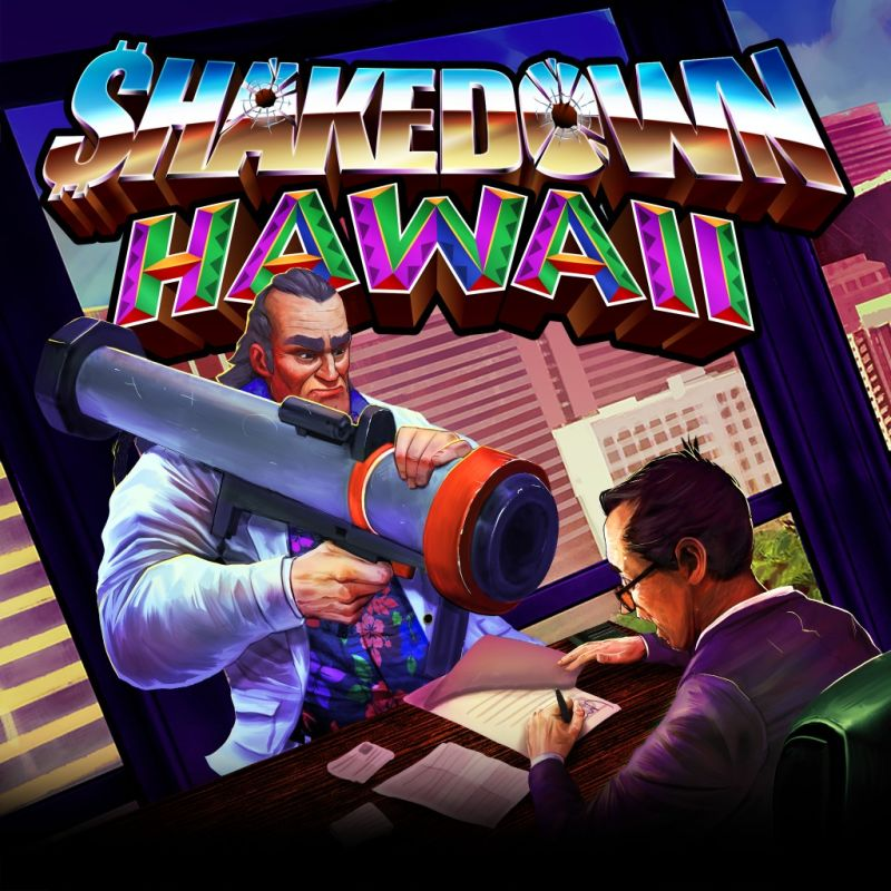 Shakedown: Hawaii PlayStation 4 Front Cover