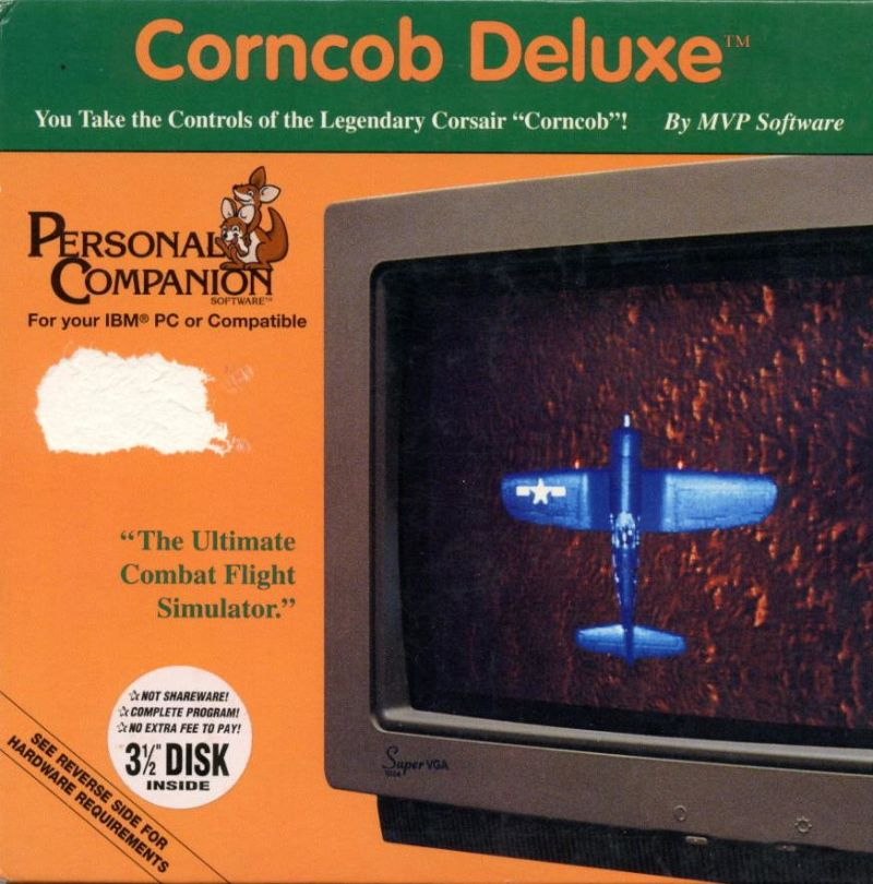 Corncob Deluxe DOS Front Cover