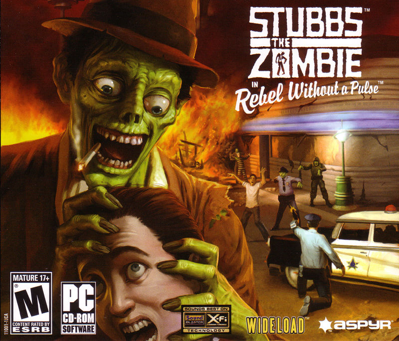 Stubbs the Zombie in Rebel Without a Pulse Windows Other Jewel Case - Front