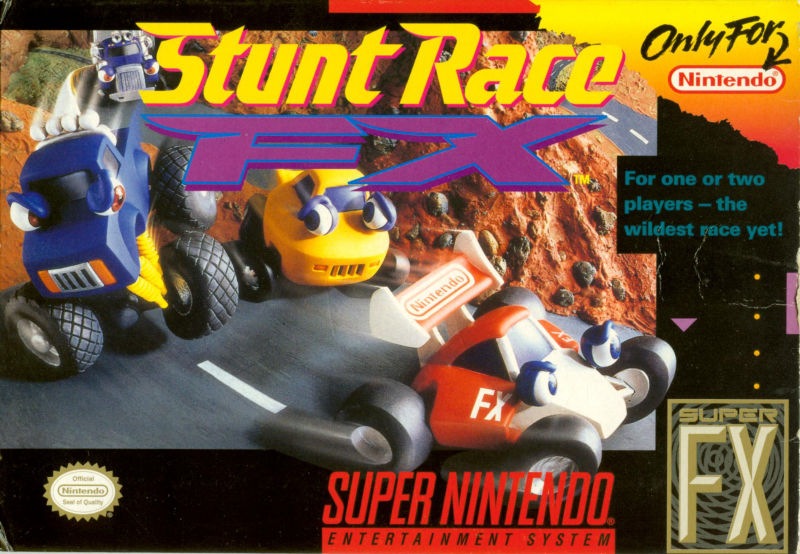 Stunt Race FX (1994) SNES review - MobyGames