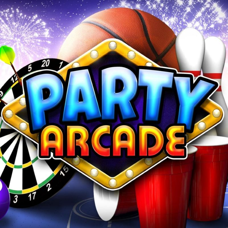 Party Arcade PlayStation 4 Front Cover