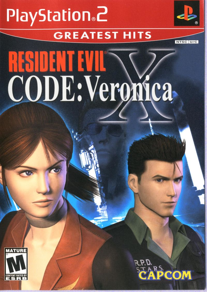 Resident Evil: Code: Veronica X PlayStation 2 Front Cover