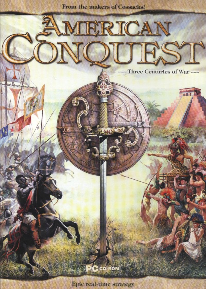American Conquest Windows Front Cover