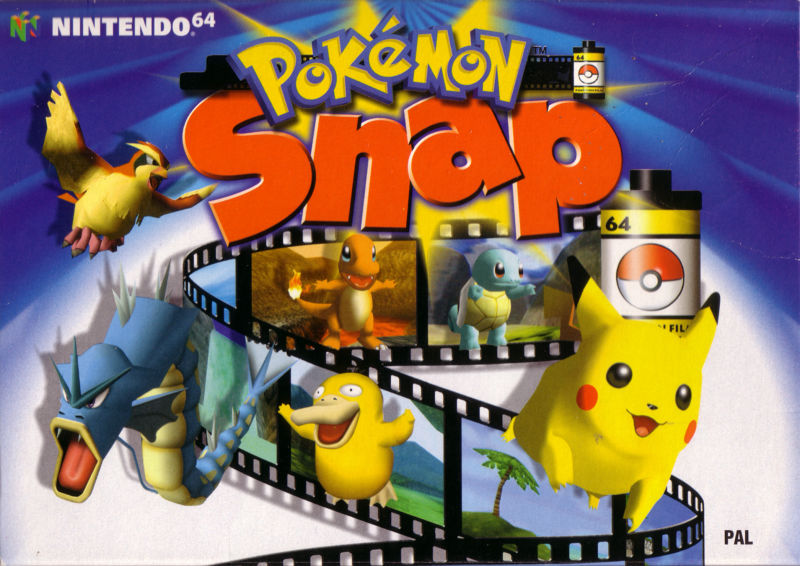 Image result for Pokémon Snap (1999)