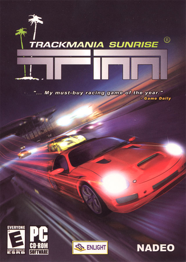 TrackMania Sunrise Windows Front Cover