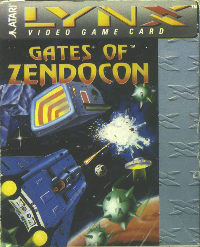 Gates of Zendocon Lynx Front Cover