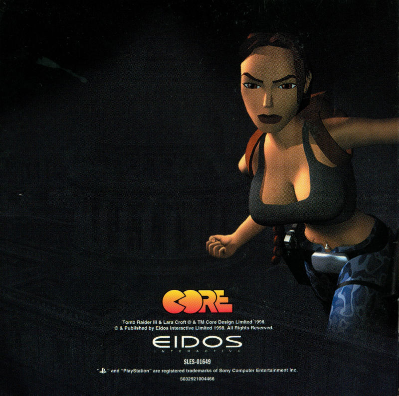 Tomb Raider Iii Adventures Of Lara Croft 1998 Playstation Box