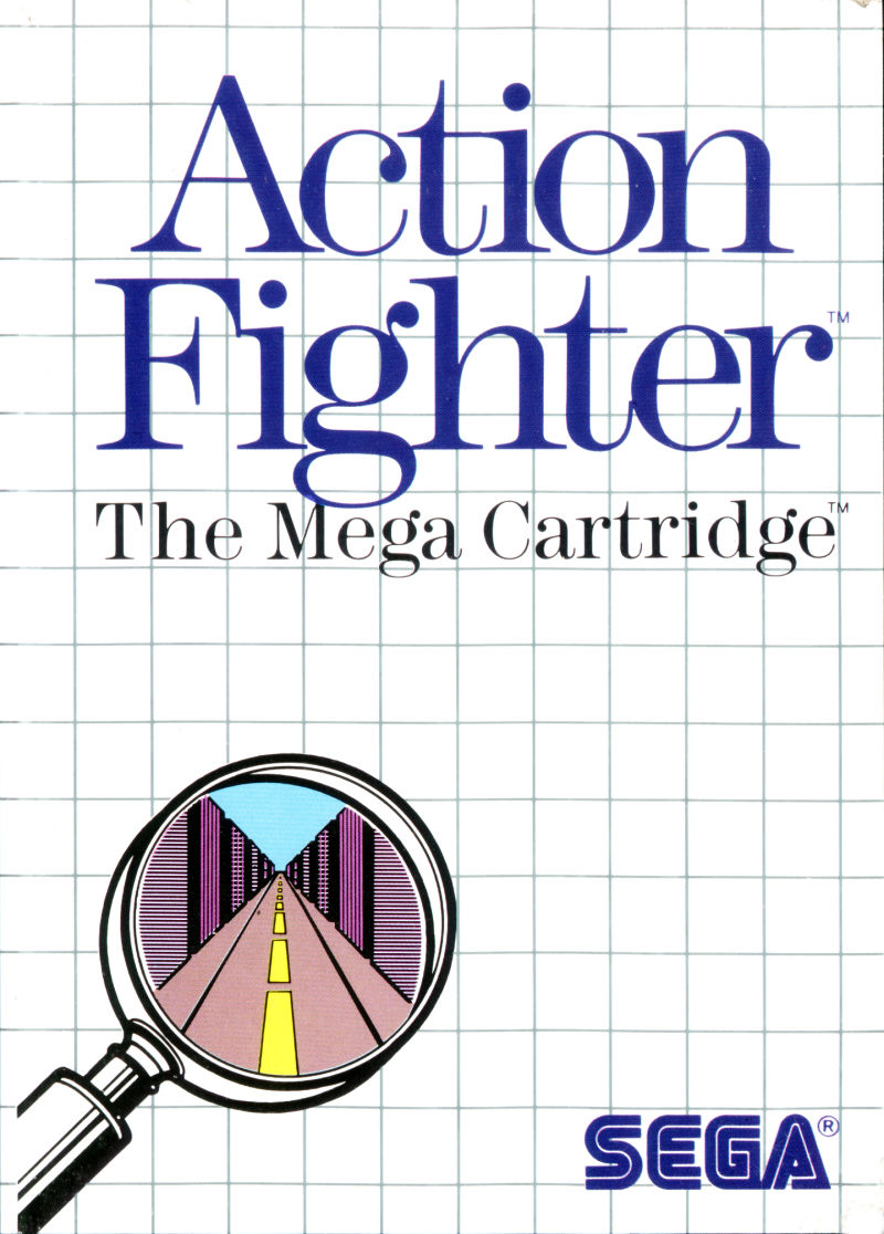 Action Fighter SEGA Master System Front Cover