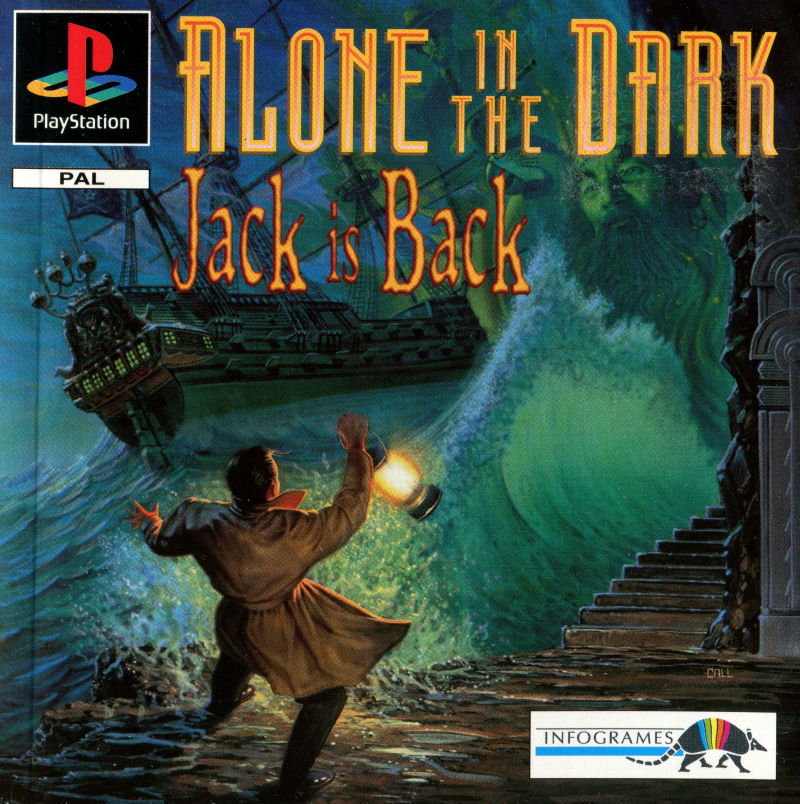 Alone In The Dark 2 1996 Playstation Box Cover Art Mobygames