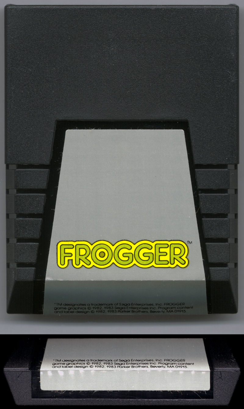 Frogger Commodore 64 Media