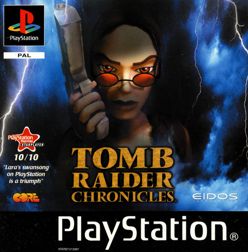Tomb Raider Chronicles 2000 Playstation Box Cover Art Mobygames