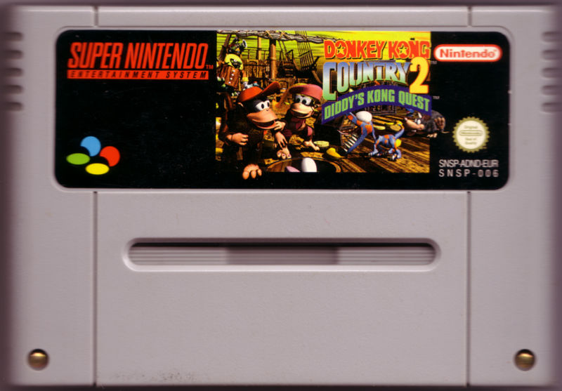 Donkey Kong Country 2: Diddy's Kong Quest SNES Media