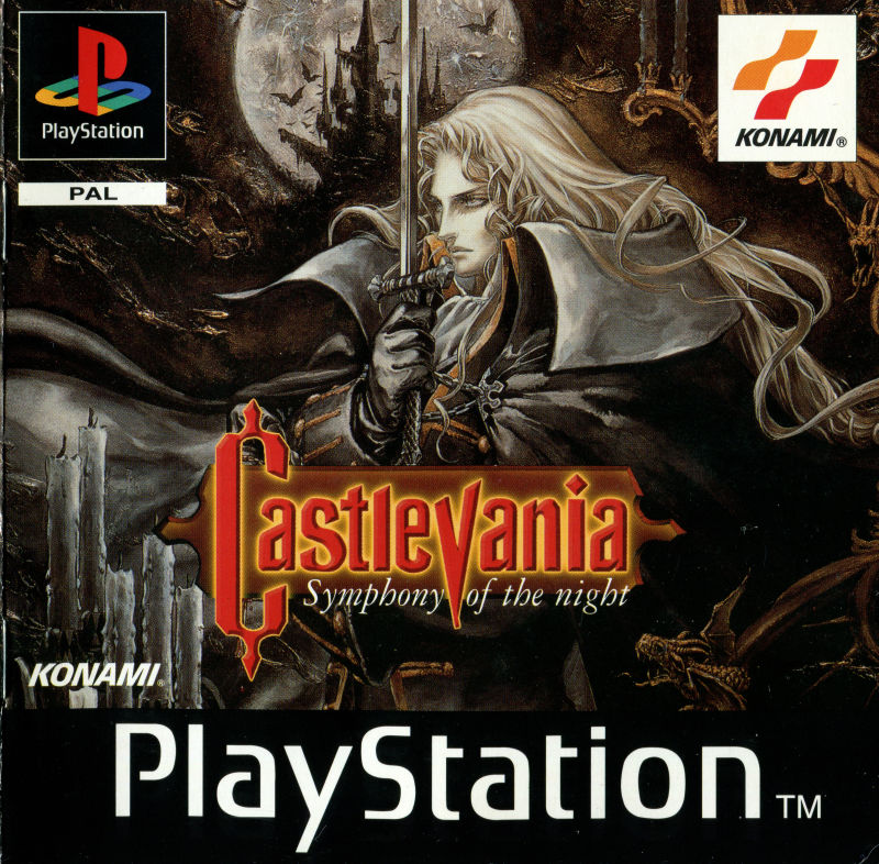 Castlevania: Symphony of the Night (1997) box cover art - MobyGames