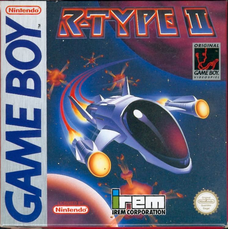 R-Type II Game Boy Front Cover