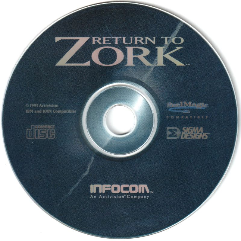 Return to Zork (1993) DOS box cover art - MobyGames