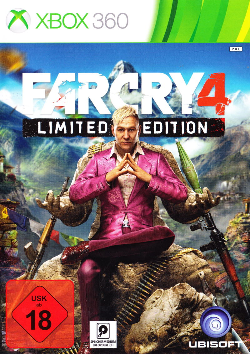 Far Cry 4 Limited Edition 2014 Xbox 360 Box Cover Art Mobygames