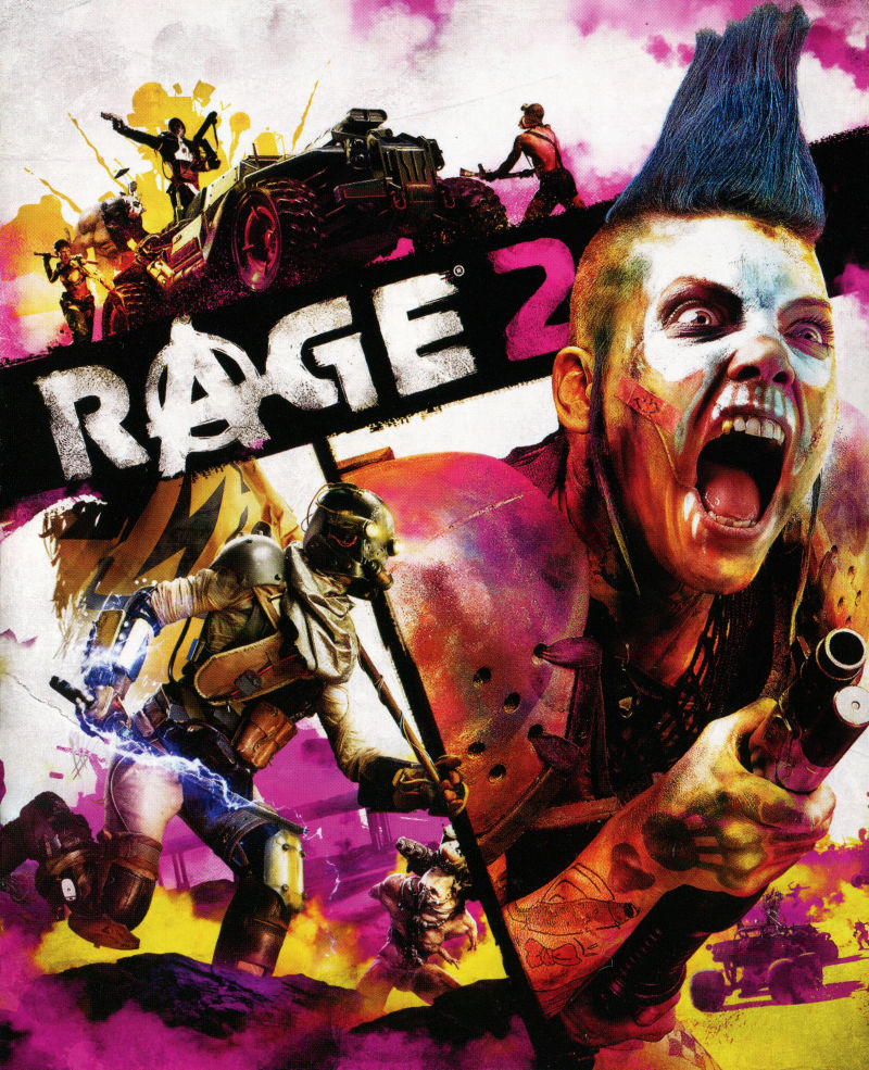 Rage 2 PlayStation 4 Manual Front