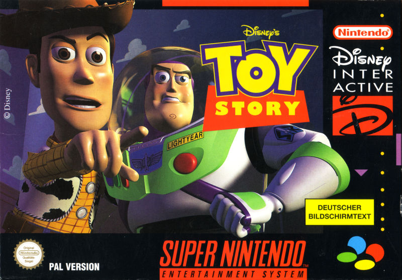 Disney S Toy Story 1995 Snes Box Cover Art Mobygames