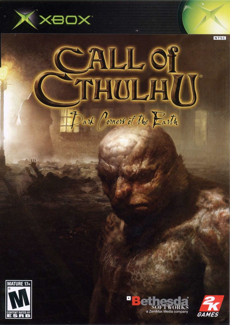 Call of Cthulhu: Dark Corners of the Earth Xbox Front Cover