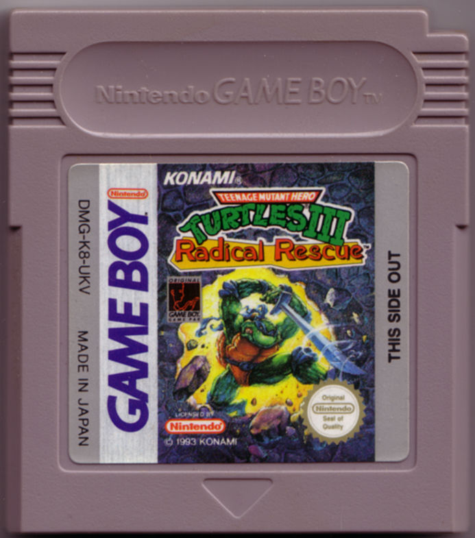 Teenage Mutant Ninja Turtles III: Radical Rescue Game Boy Media