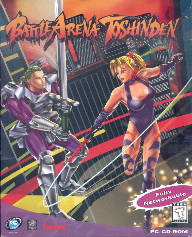 Battle Arena Toshinden 1995 Mobygames