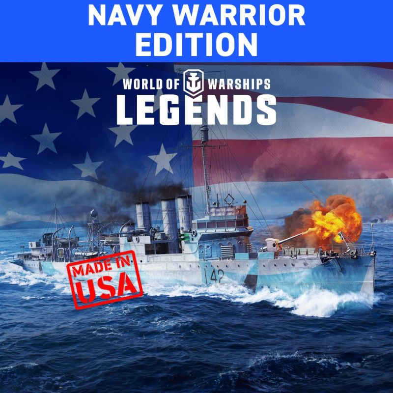 World of Warships: Legends - Navy Warrior Edition for