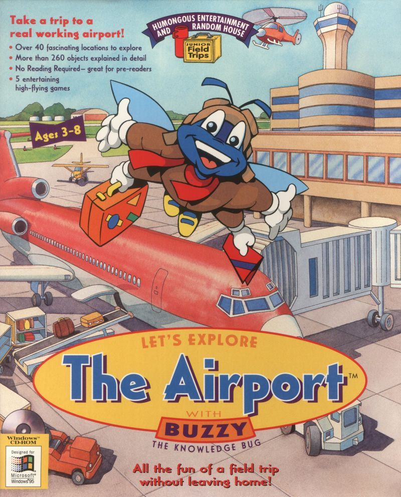 Let 39 s explore the airport for macintosh 1995 mobygames for Classic house 1995