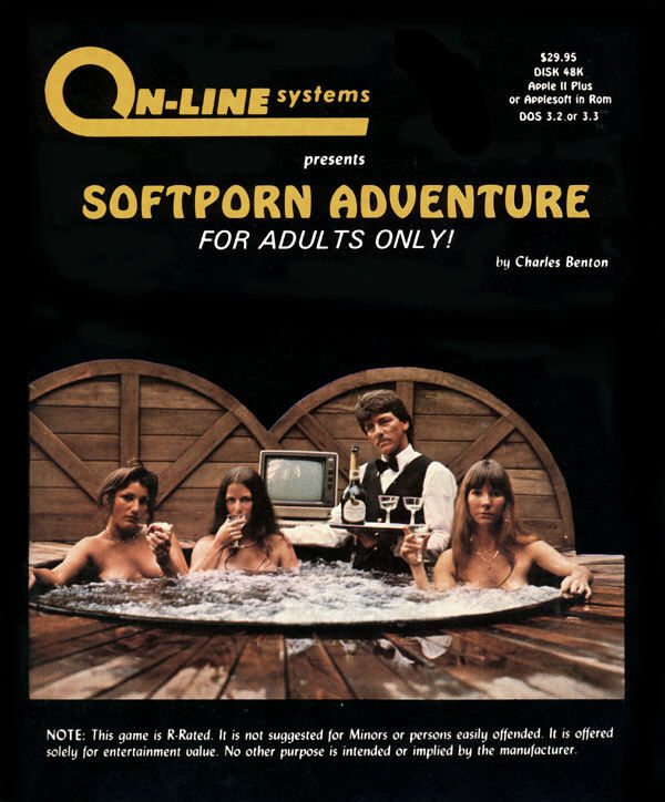 Softporn Adventure Apple II Front Cover