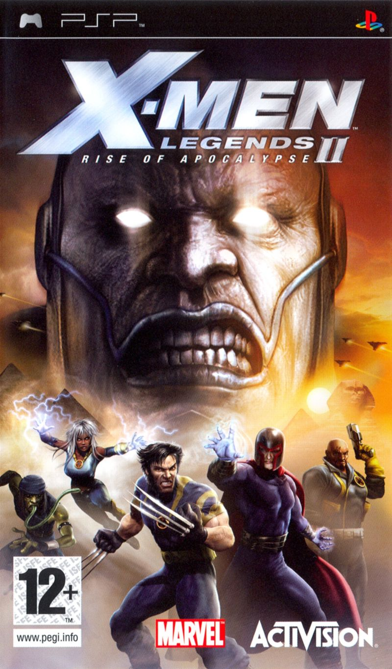 X-Men: Legends II - Rise of Apocalypse PSP Front Cover