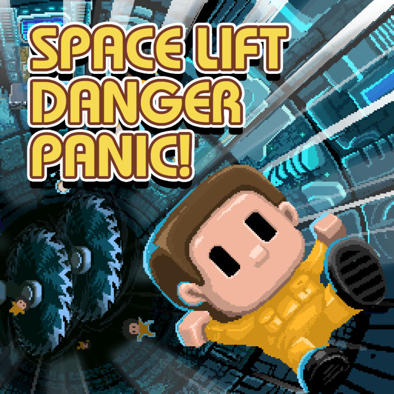 Space Lift Danger Panic! Nintendo Switch Front Cover